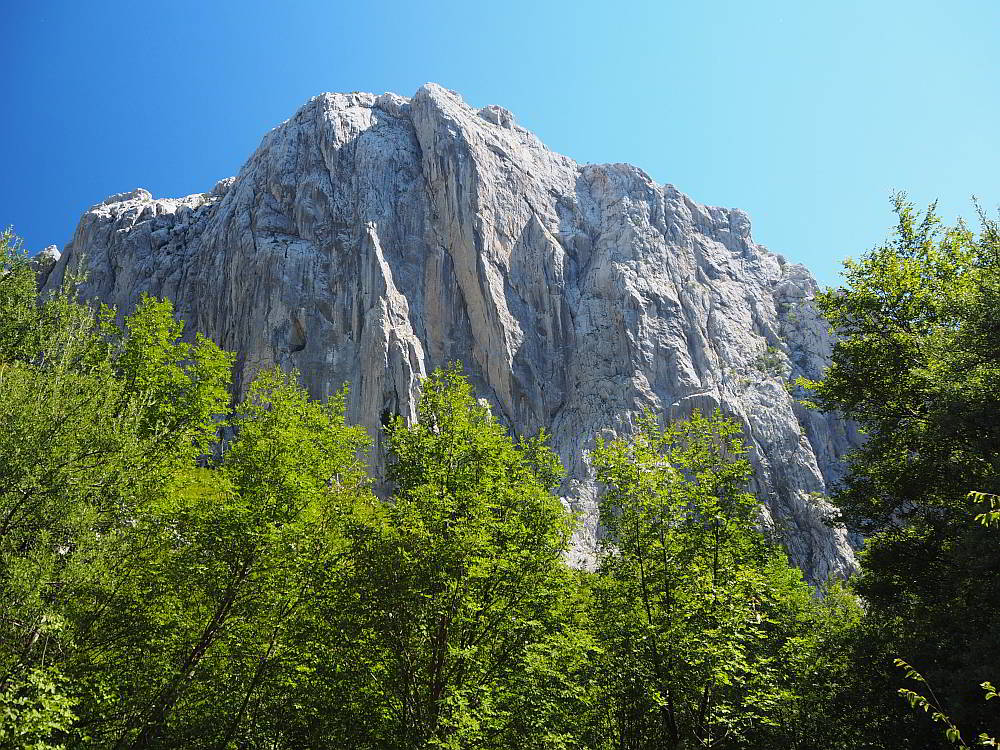 Paklenica National Park is definitely one of the best day hikes in the Balkans.