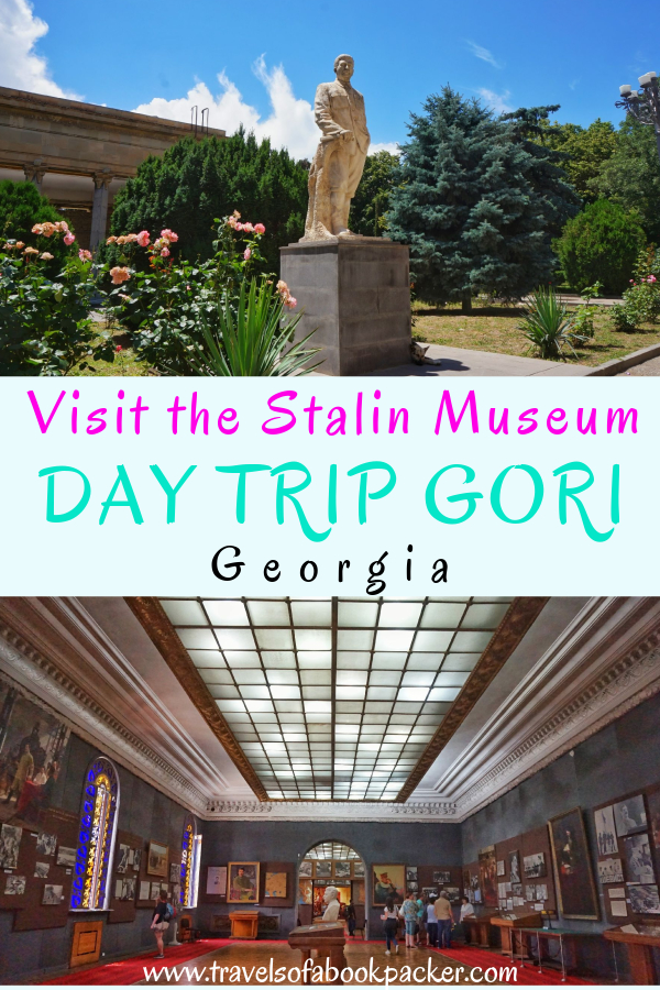Interested in a day trip from Tbilisi? Read about a day trip to Gori from Tbilisi, Georgia. Information about things to do in Gori including a visit to the Joseph Stalin Museum. #gori #tbilisi #daytrip #stalin #stalinmuseum