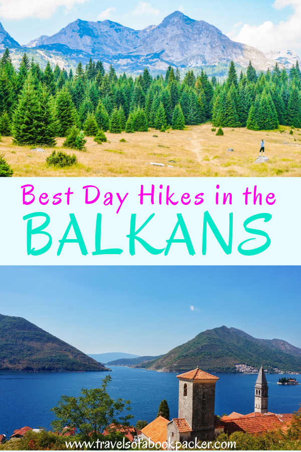 Interested in hiking? Have a look at our collection of the most incredible day hikes in the Balkans! Information about how to get there, difficulty and what to expect on these amazing Balkan day hikes. Enjoy some time in the nature of the Balkans! #balkans #hiking #dayhikes #trekking #europe #balkanregion #balkan #easteurope