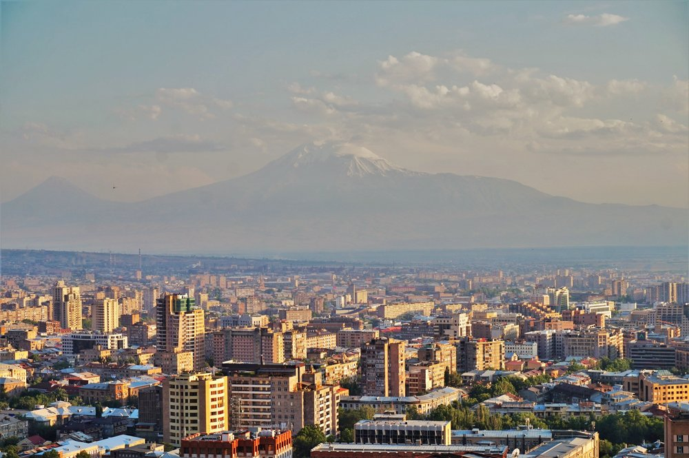 The views over Yerevan are one of the best places to see in Armenia. Should be part of your Armenia travel itinerary!