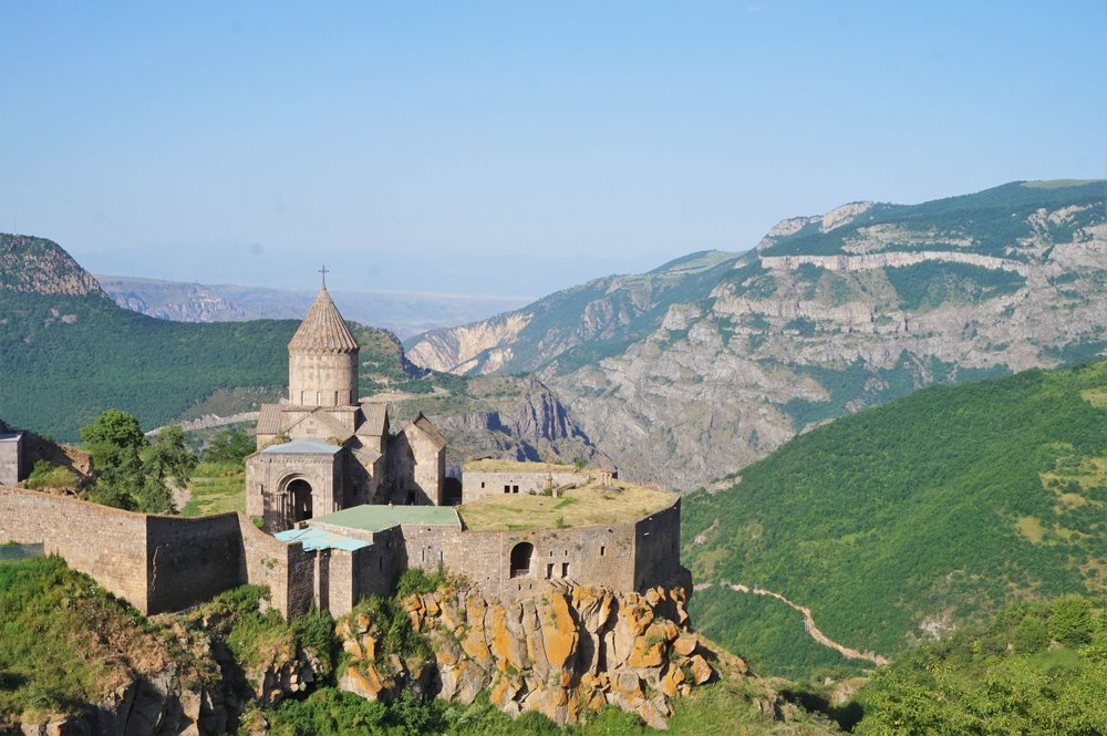 Tatev Monastery is one of the best places to visit in Armenia and should definitely be part of your Armenia travel itinerary!