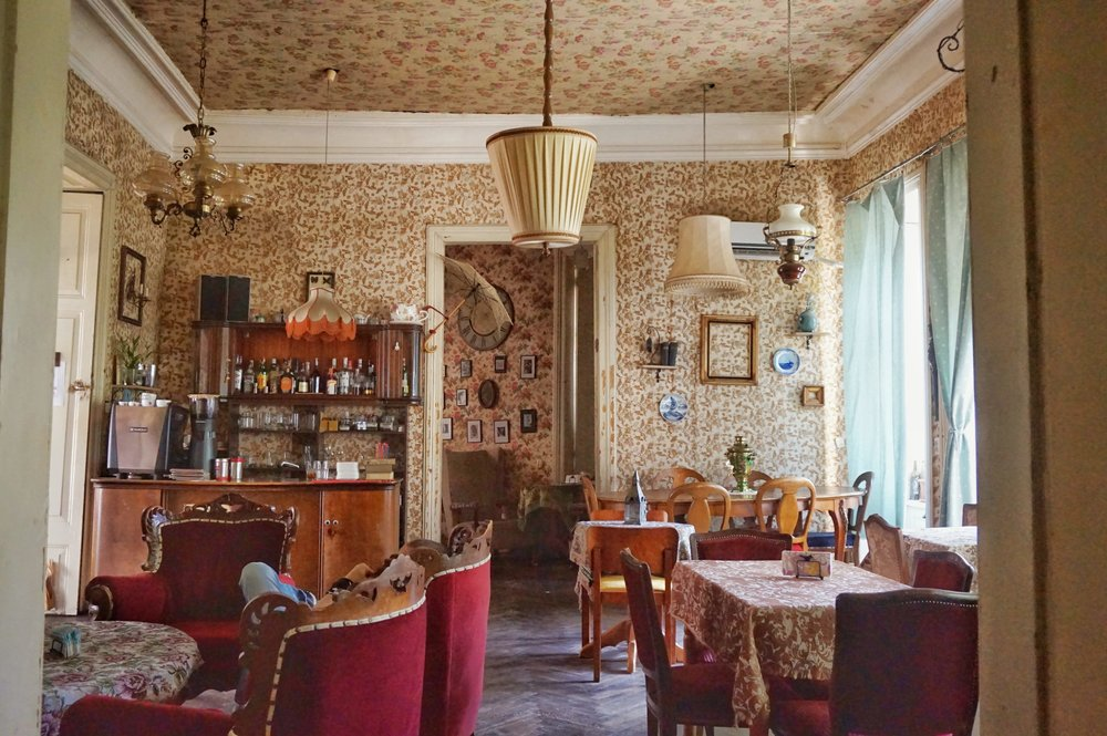 Café Linville is one of the best Cafes in Tbilisi. Just because of the decor a must visit when you are in Tbilisi!