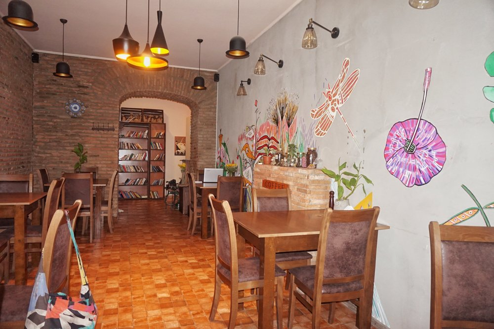 Mama Terra Veggie Corner is one of the best Cafes in Tbilisi, great vegan and veggie options.