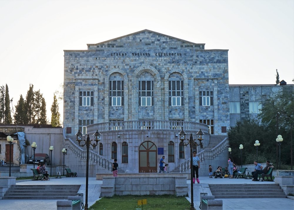 Stepanakert has some great architecture to offer. Visit the Republic of Artsakh!