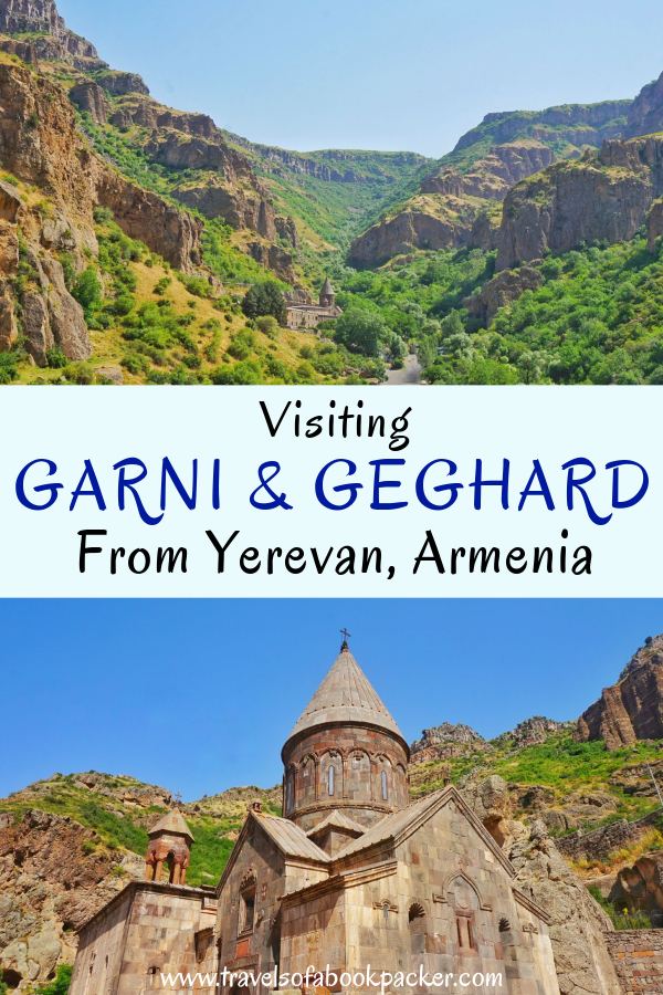 Read about how to visit Garni Temple and Geghard Monastery from Yerevan, Armenia. Useful tips and a very nice place to stay! #garni #geghard #symphonyofstones #yerevan #armenia #caucasus #backpacking #travel