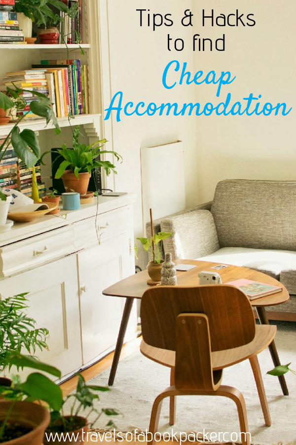 The ultimate guide on how to find cheap accommodation. Tips and hacks from seasoned travellers to help you find good value, budget accommodation and save money on accommodation worldwide. #budget #budgettravel #budgettraveltips #traveltips #traveltipsforeveryone #accommodations #travel #booking #hostel