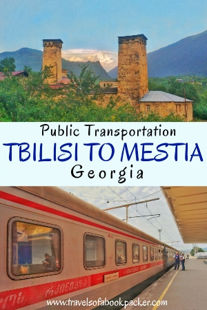 Information for getting to Mestia from Tbilisi by train, minivan, plane or car. Includes where to stay in Mestia and things to do in Mestia. #georgia #caucasus #tbilisi #mestia #travel #transport #publictransport #hiking #trekking #ushguli #mestiatoushguli