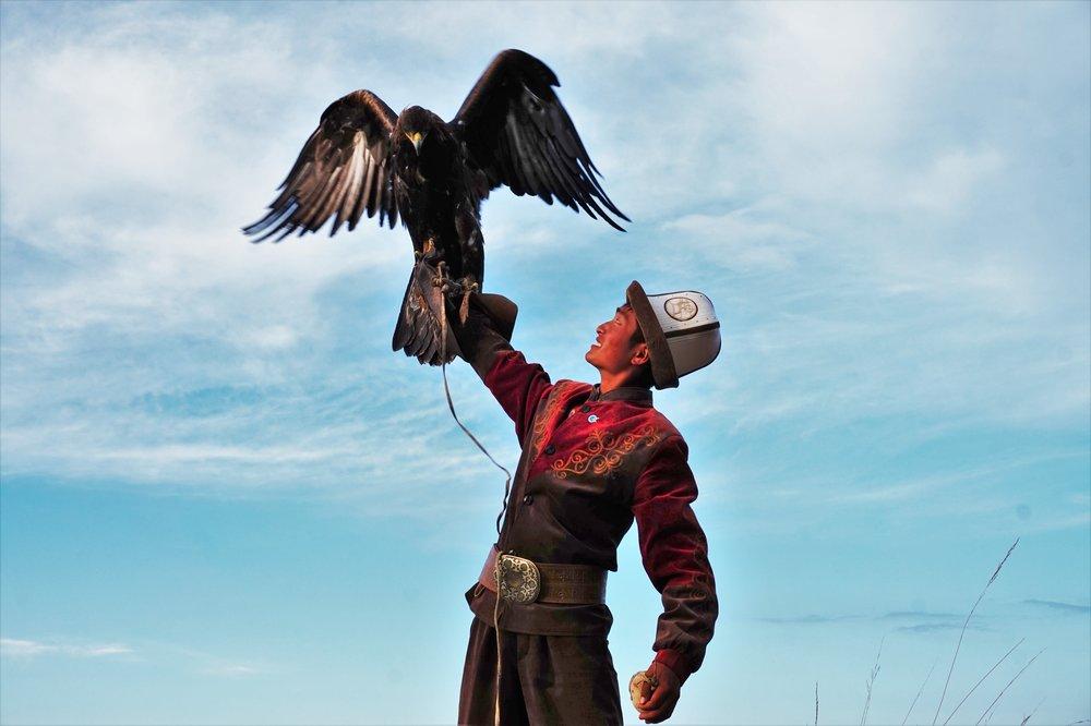 eagle hunting kyrgyzstan