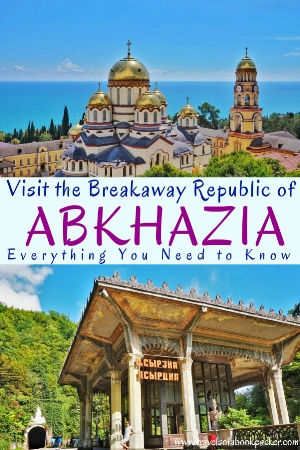 A guide to independent travel to Abkhazia. How to get a visa for Abkhazia and things to do in Abkhazia. #abkhazia #sukhum #caucasus #georgia #travel #backpacking #blacksea #beaches #breakawayrepublic