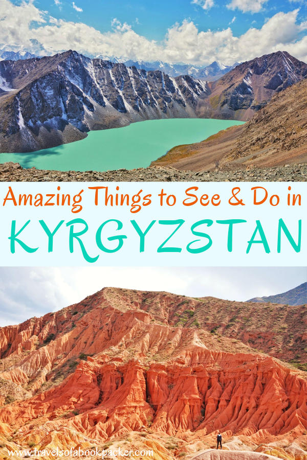 Travelling in Central Asia? Don't miss these incredible things to do in Kyrgyzstan. Includes foods to try, cultural experiences as well as nature and attractions in Kyrgyzstan to help you discover the best of this amazing country. #kyrgyzstan #centralasia #travel #backpacking #hiking #trekking #yurt #yurtcamp #bishkek #karakol