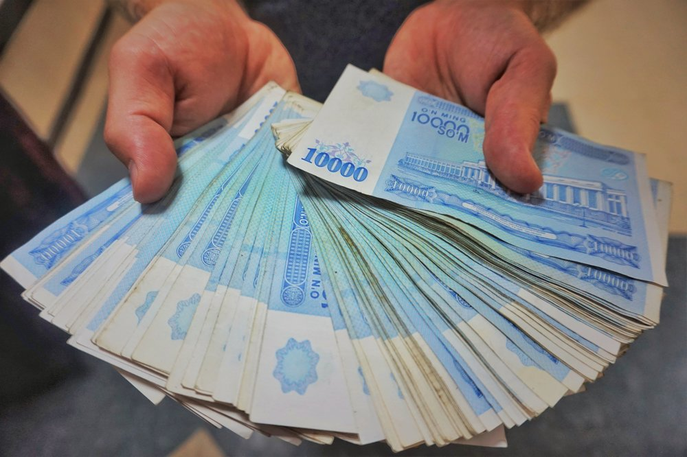 Uzbek money is not much worth, that's why you end up with big stacks of it. Getting an Uzbek e- visa 2018/19!