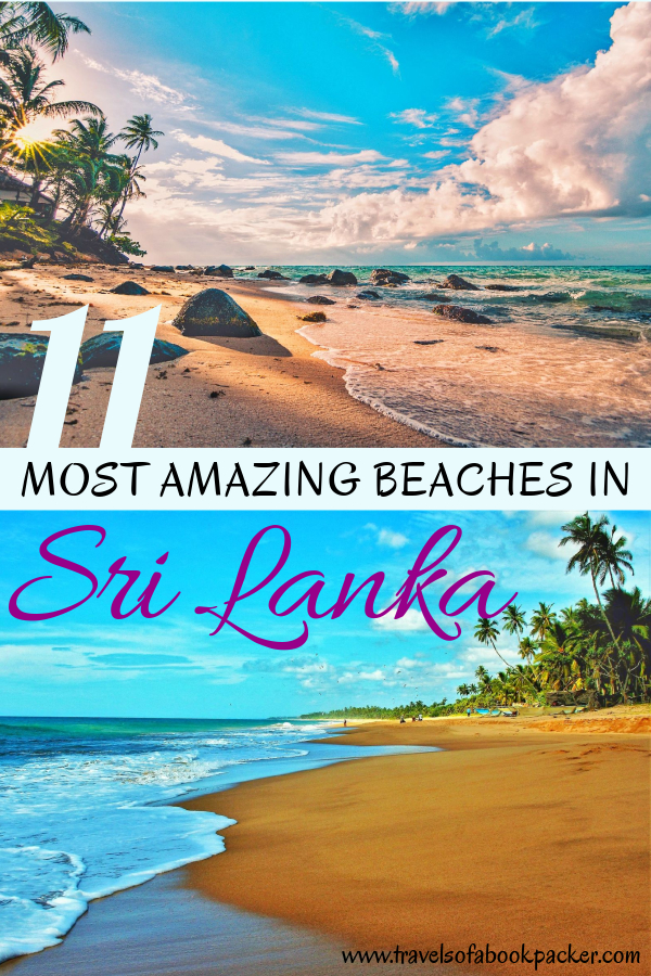 Heading to Sri Lanka? Don't miss these amazing beaches! Read our guide to the best beaches in Sri Lanka. The best spots for surfing in Sri Lanka as well as suggestions for accommodation and other activities at these beautiful beaches in Sri Lanka! #srilanka #srilankabeach #beache #travel #travelsrilanka #mostamazingbeaches #beautifulbeaches