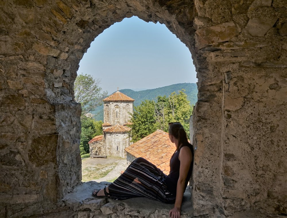 Besides the wine (obviously), visiting one of the impressive monasteries in the region is one of the best things to do in Kakheti! A visit to the monastery should definitely appear in your itinerary for Georgia's wine region.