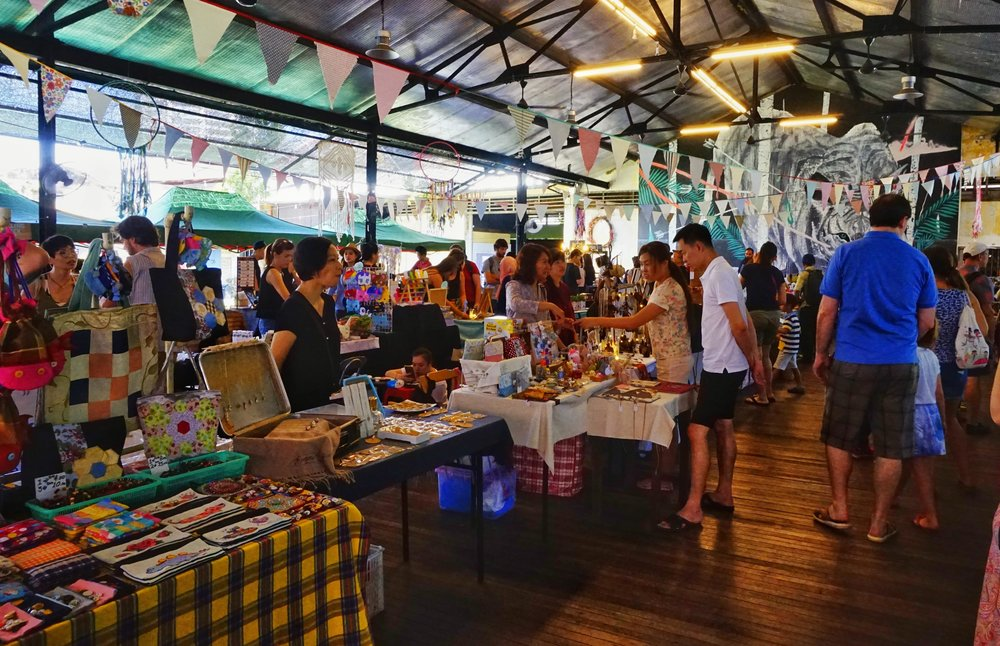There are markets all around Georgetown and they should play a role in your 3 days Penang itinerary. Georgetown's markets are one of the best things to do in Penang.