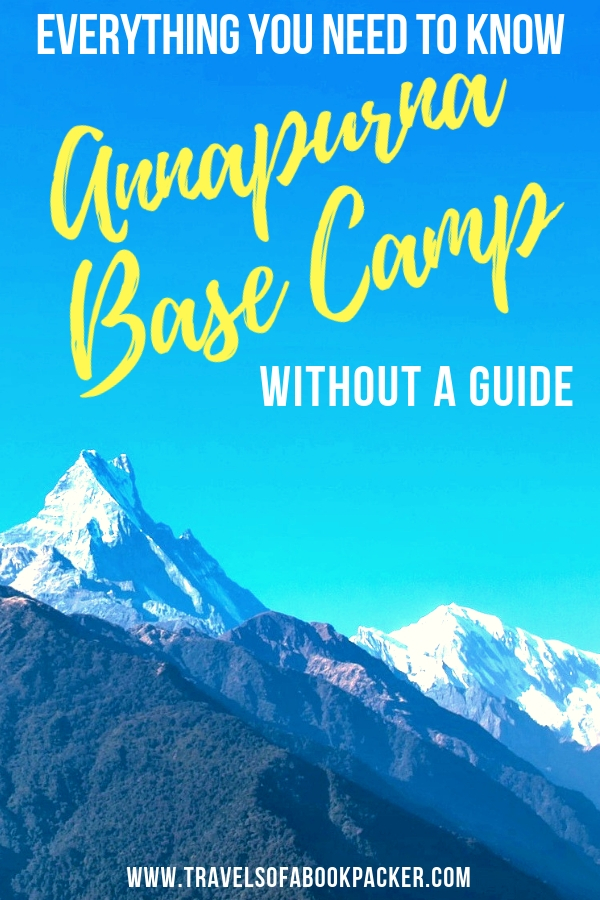 Planning a multi-day trek in Nepal? Everything you need to know to prepare for doing the Annapurna Base Camp trek independently. Information about permits, accommodation, trail, budget and transport to and from the trek. #annapurna #nepal #hiking #trekking #annapurnatrek #annapurnabasecamptrek #multidayhike #travel #pokhara