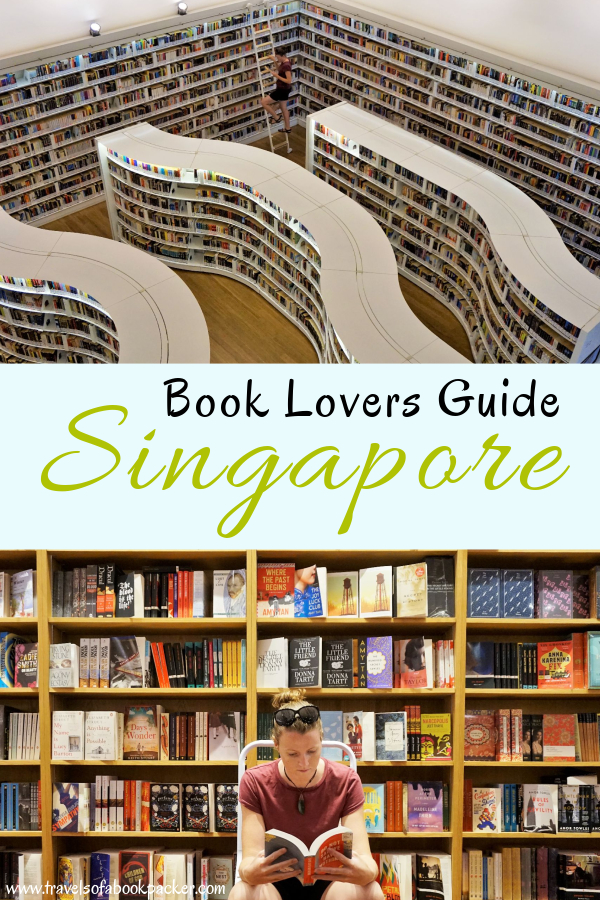 Your guide to everything books in Singapore! From bookshops and libraries to cafes and books set in Singapore, book lovers will never get bored in this book-loving city! #books #singapore #asia #singaporebooks #book #booklover #travel #travelguide #bookguide