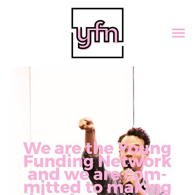 Our new website is live! Head to youngfundingnetwork.org.uk to check it out. Thanks to wonderful @thatdogwillhunt for volunteering his time to make us a beautiful new website!