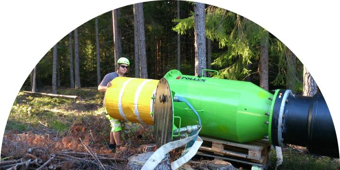 Pollexmetoden provtryckning polly-pig vattenledning P78 700