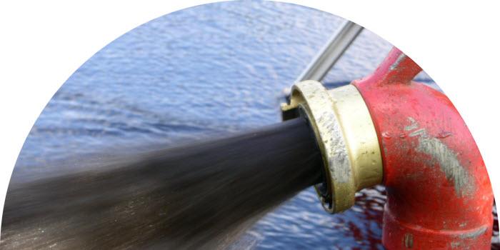 luft- och vattenspolning, vattenledningar, dricksvatten, rengöring, underhåll, ledningsnät, sediment, biofilm