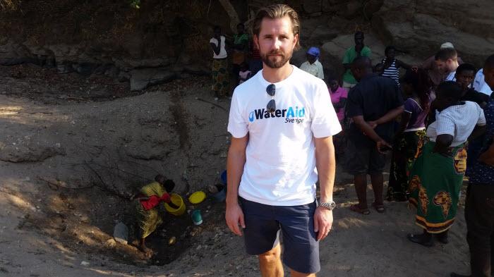 wateraid sverige, pollex, vatten, sanitet, zambia, hamangaba, mulonga alwili, mens