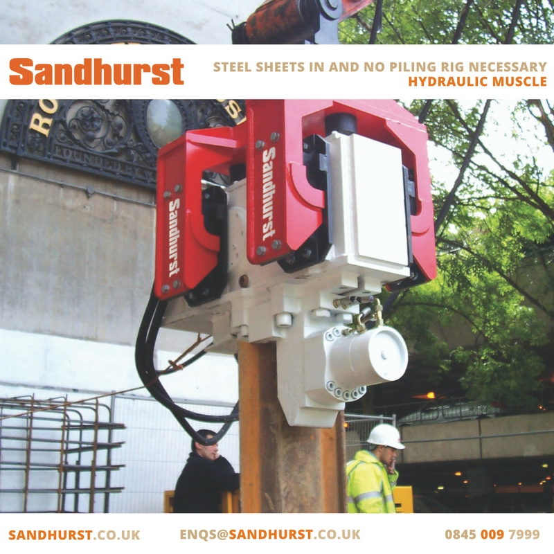 Pile driver or piling hammer (EMV) — Sandhurst | Hydraulic