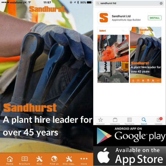 Sandhurst app