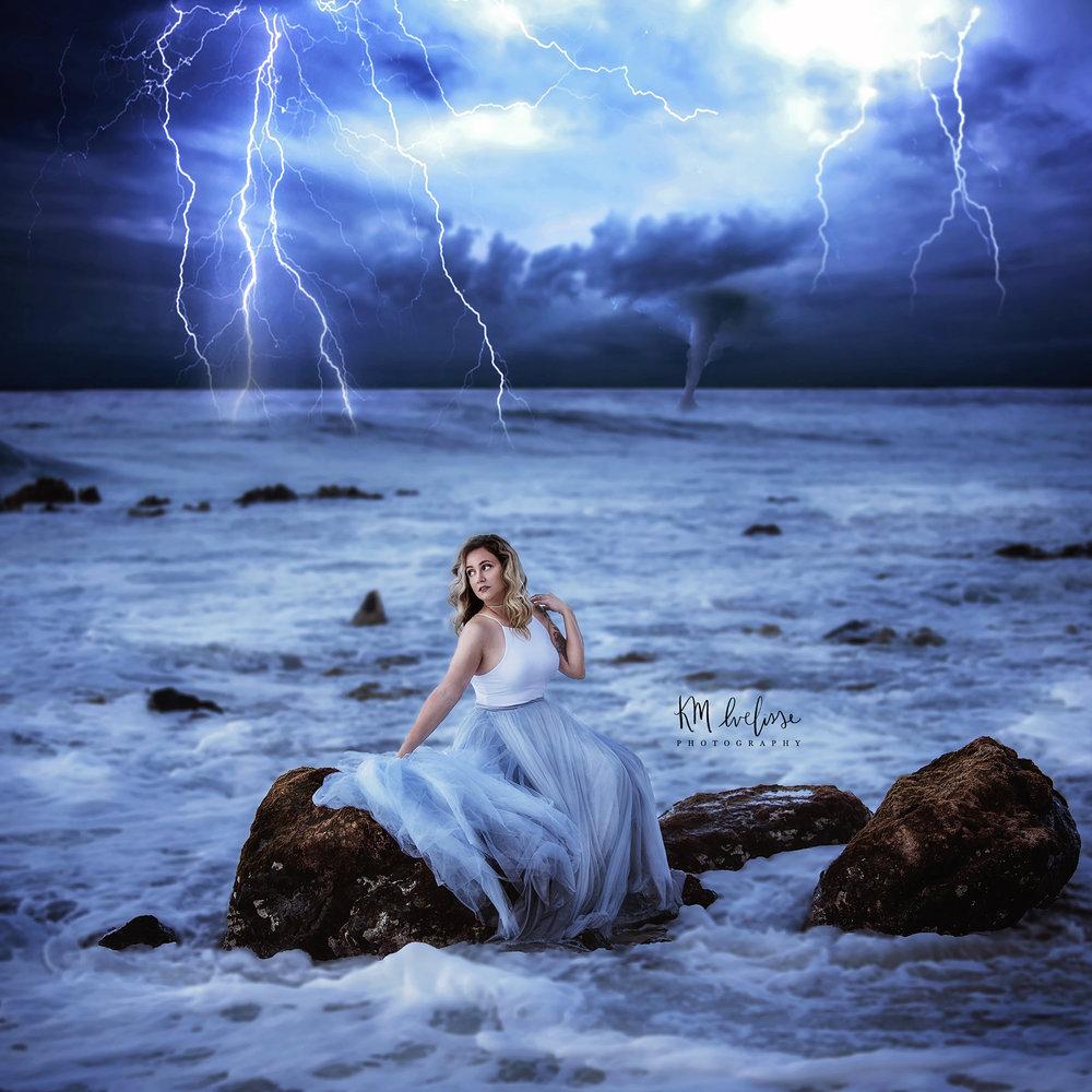 Hawaii Creative Portrait Lost At Sea
