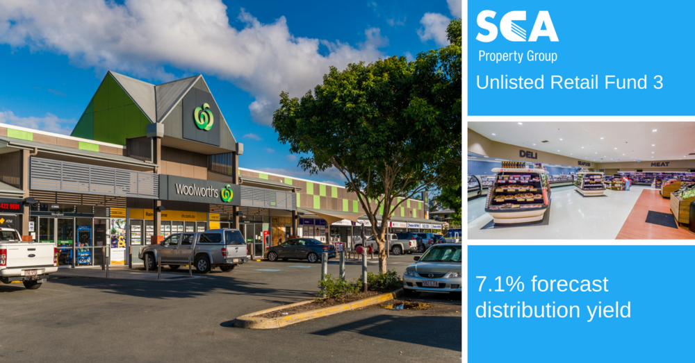 SCA Property group - Fund enquiries increased by 30% and fund was fully subscribed