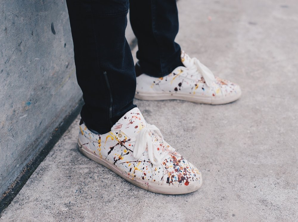 Customized Abstract Men's Sneakers