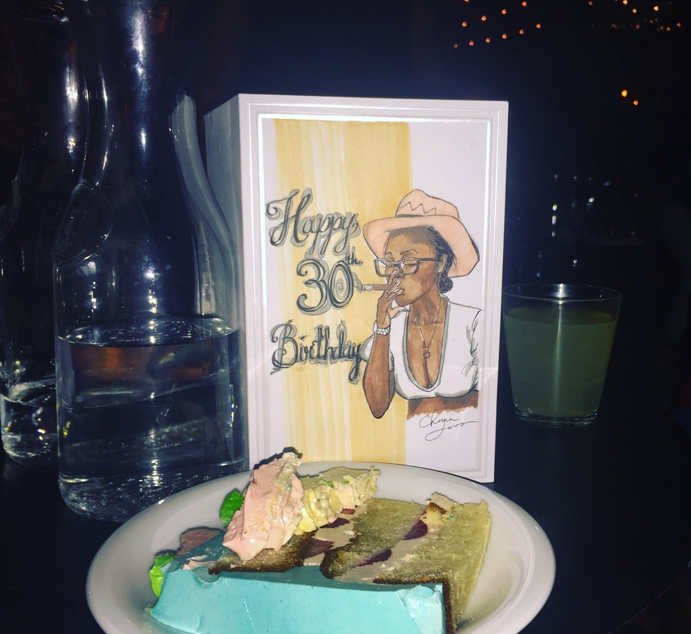 Birthday Portrait Greeting Card