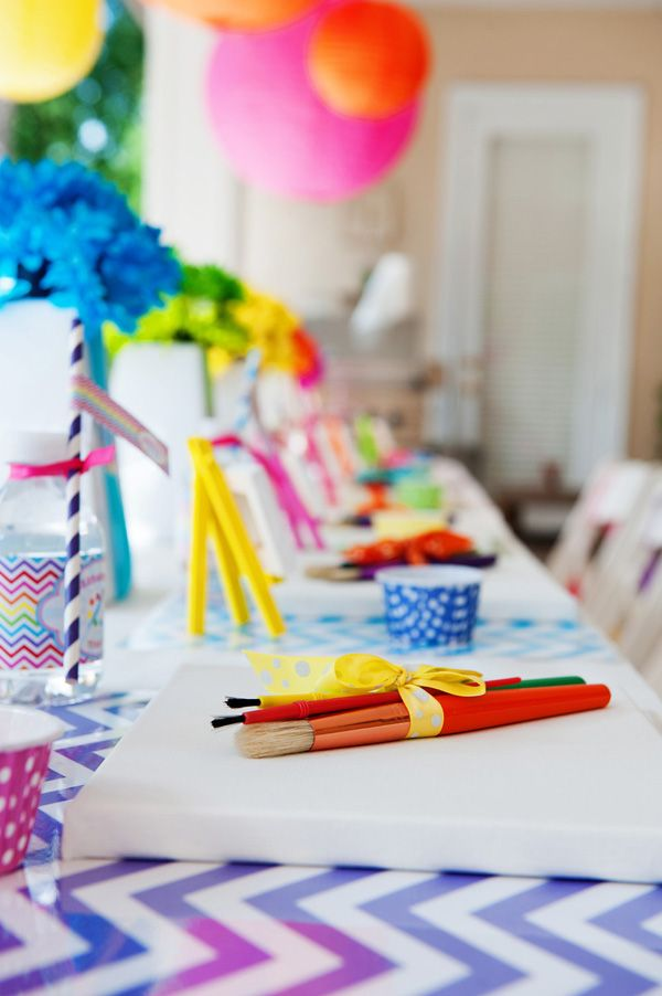 """Pops & Paint""  Kids Birthday Parties - Make your child's special day the ultimate"