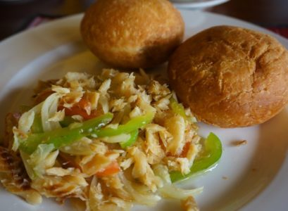 Saltfish and Bakes