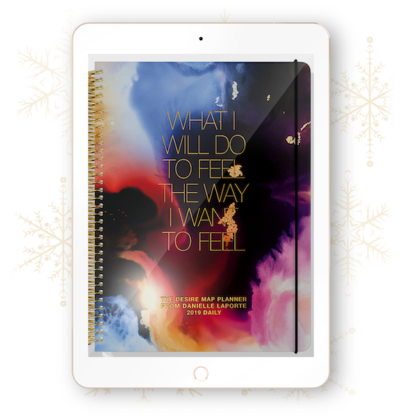 The Desire Map Planner 2019 Interactive Planner (iPad) - Daily Edition - $20 USD