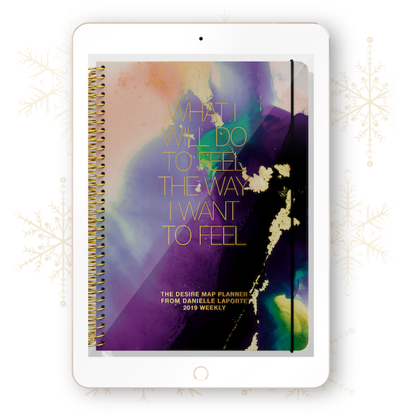 The Desire Map Planner 2019 Interactive Digital (iPad) - Weekly Edition - $20 USD