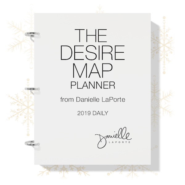 The Desire Map Planner 2019 Daily Printable - $21 USD
