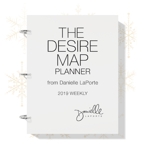 The Desire Map Planner 2019 Weekly Printable - $21 USD