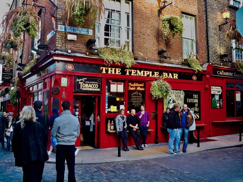 Temple Bar ~ Dublin, Ireland