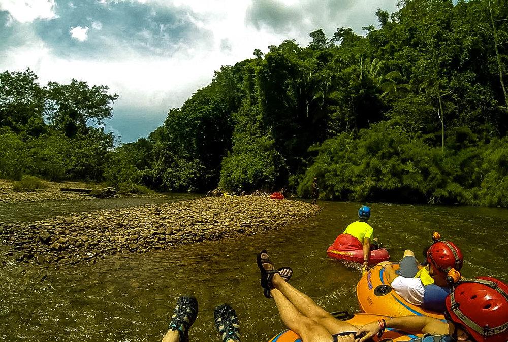 River Cave Tubing ~ Belize