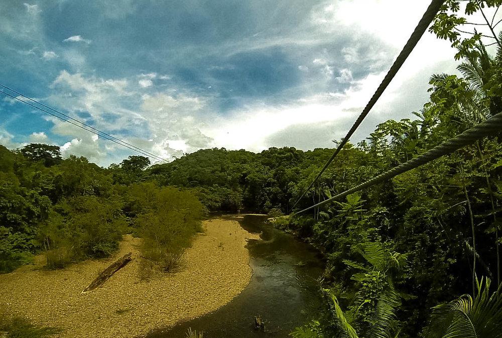 Zip Lining ~ Belize