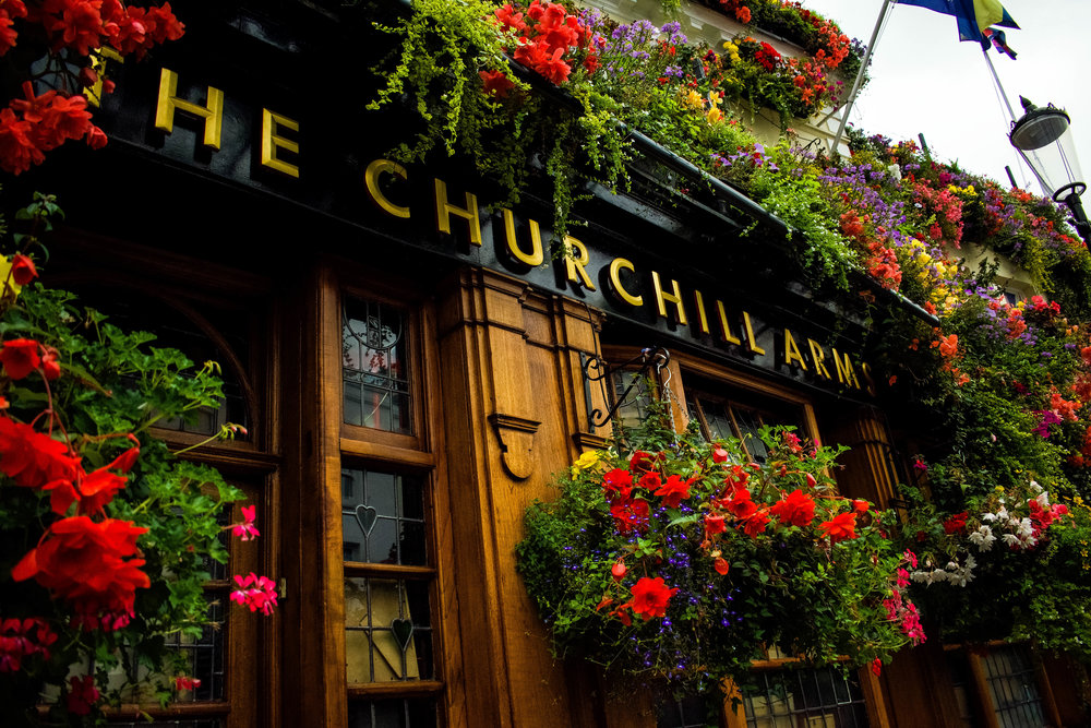 The Churchill Arms ~ London