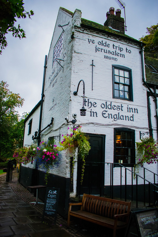 Ye Olde Trip to Jerusalem ~ Nottingham, England