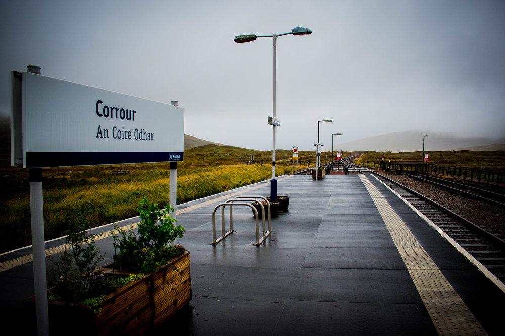 Corrour Station, Scotland