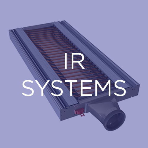 Conventional IR solutions:   Our IR drying technologies offer a host of features that make them ideal for converting and other applications.