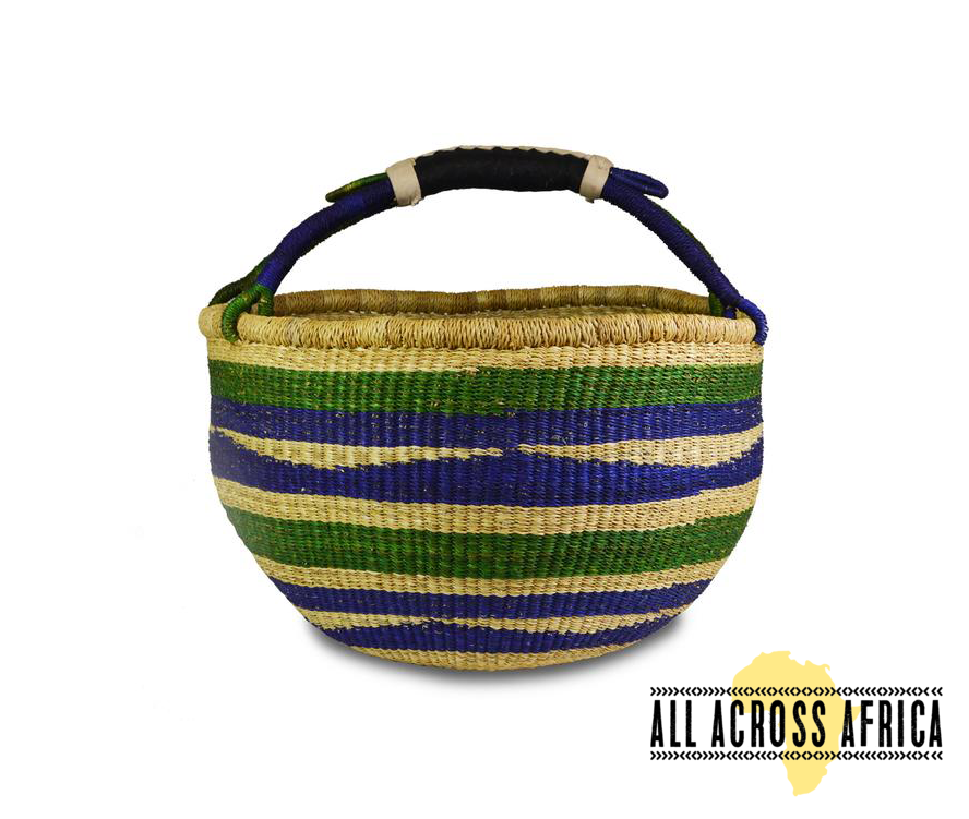 Emerald and Deep Sea Market Bag $68.00