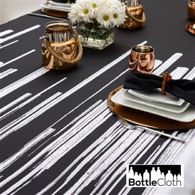 Fluid Brushstroke Tablecloth $79.00