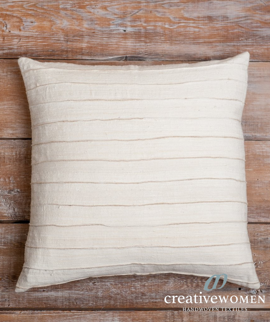 Natural Folded Pillow Cover (Contact For Price)
