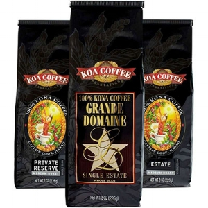 Koa Coffee Medium Roast Whole Bean Kona Coffee