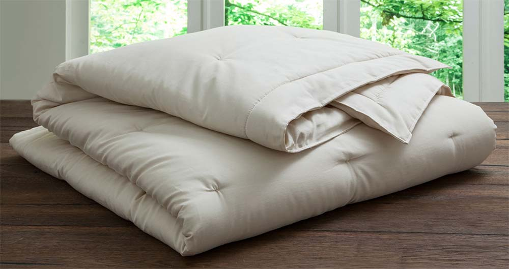 Plushbeds Natural Wool Comforter