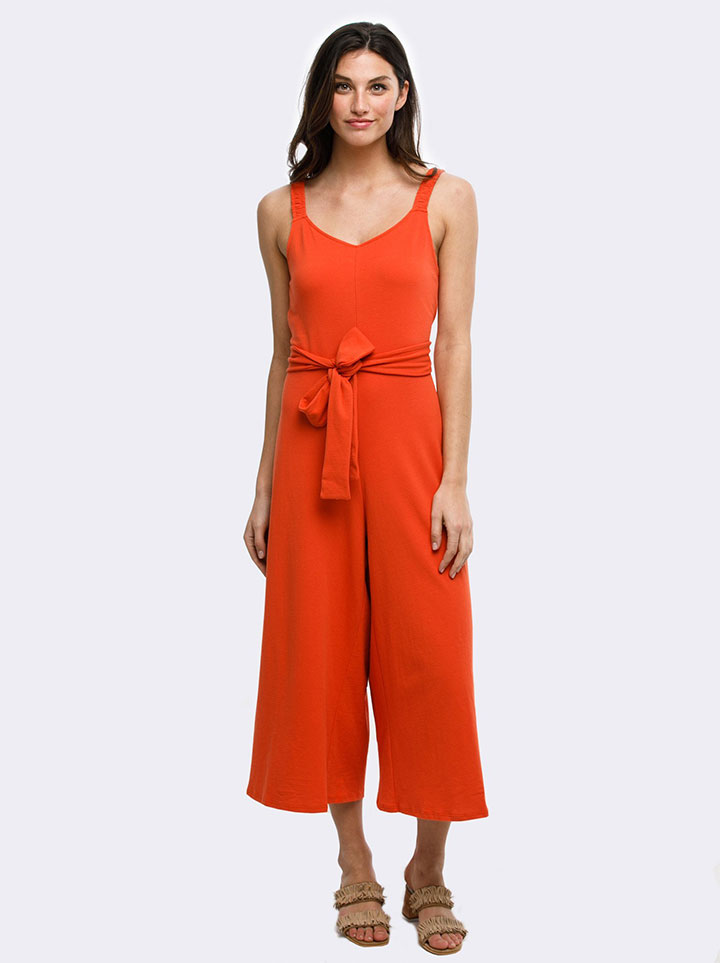 Able Red Rosario Jumpsuit