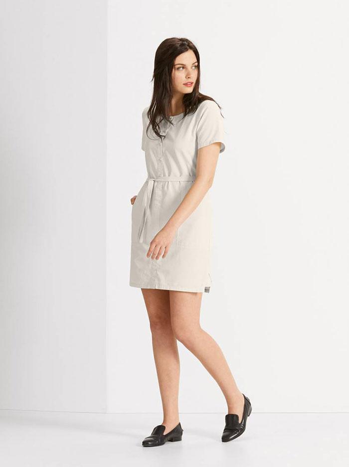 NAU Twisted Short Sleeve Dress